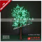 Outdoor decoration landscape cherry flower big christmas tree with arch light decorative