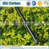 Juli professional supplier high strenght custom 3k gloss carbon fiber tube/pipe , carbon fiber tube fittings