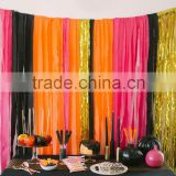 Inspired Halloween Party Idea Crepe Paper Streamers Paper Crepe Streamers Garland Bunting Paper Garland BANNER BUNTING