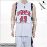 2015 new style basketball jersey reversible mesh basketball jerseys best basketball uniforms