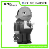 custom wholesale bobbleheads businessman vinyl toys/oem children vinyl toys cartoon figure/custom roto casting vinyl toy factory