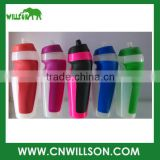 sport bottle in promotional items myshaker Custom Fashionable BPA Free Plastic Drinking Spray water bottle