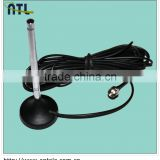 (Manufactory) 174-230,470-860MHz Hotselling Magnet VHF/UHF Digital Active Car TV Antennas