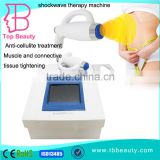 portable ESWT extracorporeal shock wave therapy beauty equipment machine for cellulite reduction