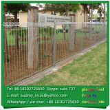 white color Hot Dipped Galvanised BRC Welded Wire Mesh Fence / Galvanized BRC Welded Mesh