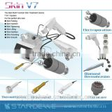 Eye Line Removal Factory: Multifunction Portable Microdermabrasion Silk Peel Beauty Equipment(with CE) Whitening Skin