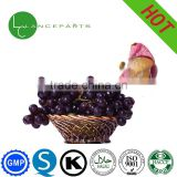 Dark purple powder 5%-98% antiallergic Grape Skin Extract Resveratrol