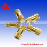 Custom cnc machining brass baler parts