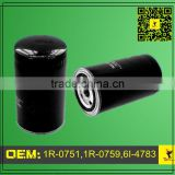 1R-0751,1R-0759,6I-4783 Fuel Filter Applied For Caterpillar Fuel Filter 3116, 3126, 3126B & 3126E Engines
