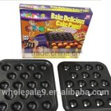 As seen on TV non stick bake delicious cake pops mould 18 pops