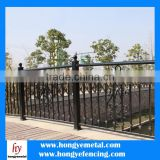 2015 Hot Sale Eco Friendly Aluminum Garden Fence