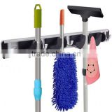 Garden Tool Storage mop and broom holder wall Organization for the Home Plastic Hanger for Closet Garage Organizer