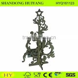 FSC laser cut plywood Christmas tree wholesale