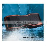 New product 2017 outdoor portable IPX7 waterproof bluetooth speaker for swimming pool