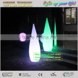 Battery powered cordless led floor lamp / wedding decorative led floor lamp