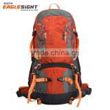 55L Outdoor Sport Water-resistant External Frame Backpack Hiking Backpack Backpacking Trekking Bag with Rain Cover