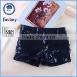 new latest sequin shorts for children,sexi short hot pant for girl,custom chilren shorts