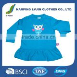 cotton printd plain baby toddler clothing blank kids t-shirts