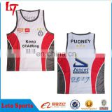 Youth customized school team usa crew neck basketball jerseys