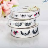 Hot Selling Colorful Printed Grosgrain Ribbon