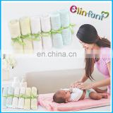 Baby 100 % soft bamboo face washer hand towels bamboo wipe washcloth towel