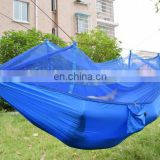 2016 Parachute Nylon Jungle Hammock with mosquito net for Travel Camping Outdoor