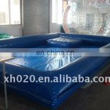 Commercial vinyl tarpaulin inflatable pond