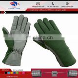 Tactical Flight Gloves / Flyers Pilot Military Gloves {- Made-To-Order -} Min.Ord