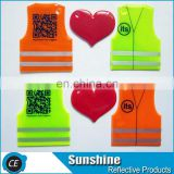 EN13356 Promotion High Visibility reflective keychain