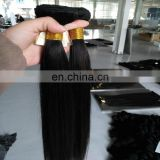 Top quality unprocessed virgin vietnamese human hair extensions wholesale price natural color hair weaving