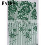 Ready goods 3d african lace fabric beads bridal swiss voile lace fabric