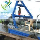 Working Capacity 400cbm/H Cutter Head Suction Dredger for Hot Sale