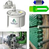 EQOBRUSH online cleaning system for Condenser tube fouling and scaling solution
