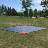 Waterproof big size hiking ground sheet outdoor sand free beach blanket Camping mat