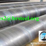 Outside 3lpe Coating API 5L SSAW  Steel Pipe