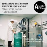 200-220 Litre Bulk Bag Filler Bag in Drum Aseptic Filling Equipment