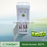 Bottled floor standing water dispenser with sterilize cupboard cold and hot water dispenser