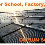 Solar Energy For Buildings--Solar Water Heater System