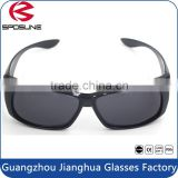 Vintage custom frame dark lens sunglasses black frame cycling driving fishing running riding outdoor sports