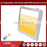 TUV CE RoHS 40W 600 600mm square flat color temperature adjustable LED Panel Lighting                                                                         Quality Choice