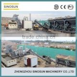 SINOSUN CAP asphalt mixer machine,20-120t/h asphalt drum mix plant