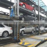 Concrete structure multi level parking system, full auto control intelligent parking system
