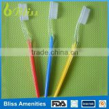 2015 New model cheap pp bristle hotel healthy amenities disposable hotel toothbrush/hotel supplies