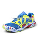 New Arrival Shining Design Breathable Mesh Lightweight Mens Running Shoes