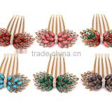 Wholesale Luxurious Resin Stones Fashion Fancy Hair Accessory