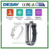 Desay Pedometer Sleep Monitor Activity Tracker Fashion Smart Bracelet DS-B103 for Android / iOS