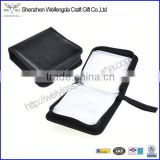Black New Album 40 Disc CD DVD Holder Faux Leather CD Storage Case Wallet