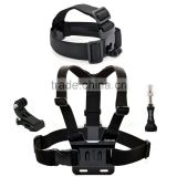 Digital Camera Outdoor Sports Kits for Gopro Chest Strap Harness