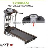 Multi-function Motorized treadmills gym equipment home gym with 1.5hp dc motor