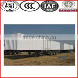 China best brand SINOTRUK factory supply 20-100 ton 2 axle/3 axle van type semi trailer/strong box trailer